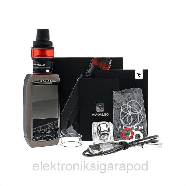 Vaporesso Polar Kırmızı Renk Elektronik Sigara Kutu İçeriği