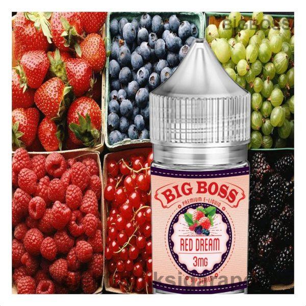 Big Boss Red Dream 30 Ml Likit