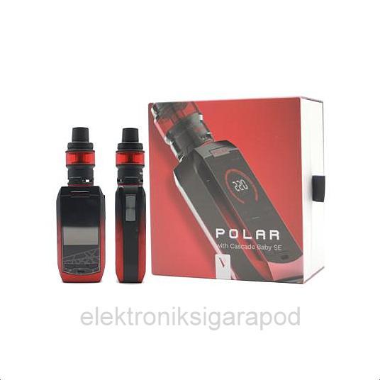 Vaporesso Polar Kırmızı Renk Elektronik Sigara Kutusu